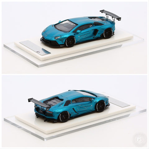 1/64 Liberty Walk LB Performance Aventador LB700 (40th Anniversary Blue)