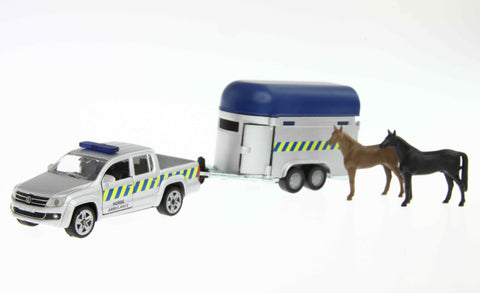 Siku 2310 1/55 888 00 VW Volkswagen Amarok TDI House Ambulance with Horse