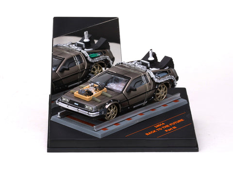 "1/43 SUN STAR 24014 De Lorean DMC 12 ""Back to the Future"" Part III (Railroad version)"