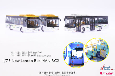 1/76 New Lantao Bus MAN RC2 - MN92 rt.23