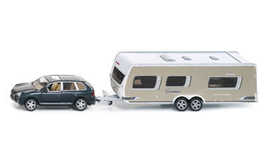 Siku 2542 1/55 Car with Caravan