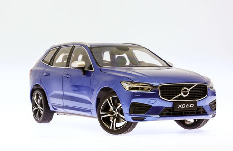 1/18 Volvo XC60 2018 R-Design Bursting Blue Metallic
