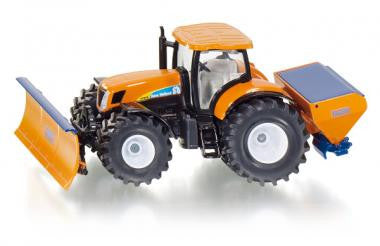 Siku 2940 1/50 Tractor with ploughing plate and salt