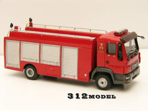 1/76 Hong Kong Fire Engine -MAN Hose Layer