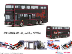 1/76 Crystal Bus MAN A95 12m - GE8888