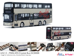 1/76 Crystal Bus MAN A95 12m - GC8888