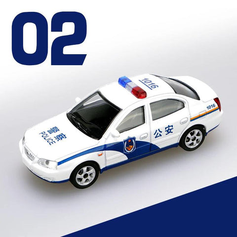 1/64 XCarToys 02 Public Security Hyundai Elantra