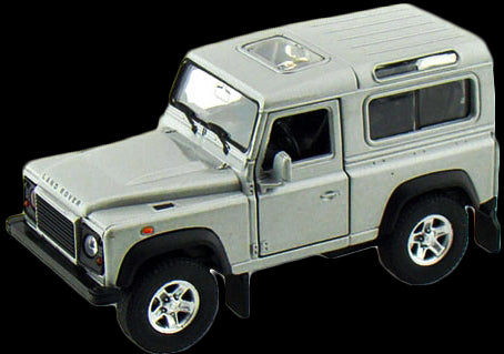 1/34 Welly 42392CW Land Rover Defender (Gold)