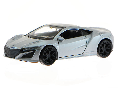 1/34 Welly 43725L-CW 2015 Honda NSX Sliver