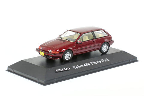 1/43 ATLAS 8506034 Volvo 480 Turbo USA