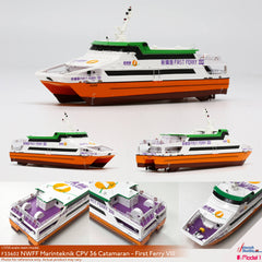 1/250 NWFF Marinteknik CPV 36 Catamaran - First Ferry VIII