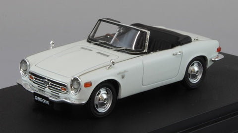 1/43 MARK 43 PM4349W Honda S800M Ivory White