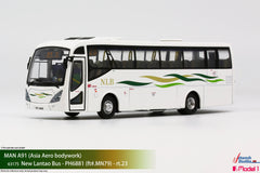 1/76 New Lantao Bus MAN A91 - MN79 rt.23