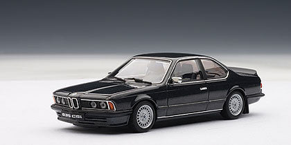 1/43 AUTOART 50508 BMW 635CSi - DIAMANTBLACK METALLIC