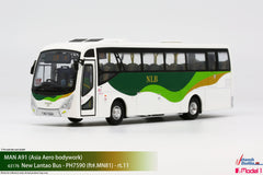 1/76 New Lantao Bus MAN A91 - MN81 rt.11