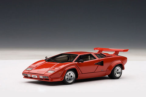 1/43 AUTOART 54531 Lamborghini Countach 5000 S (Red) (with Openings)