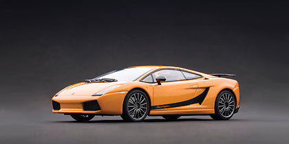 1/43 AUTOart 54611 LAMBORGHINI GALLARDO SUPERLEGGERA - BOREALIS ORANGE