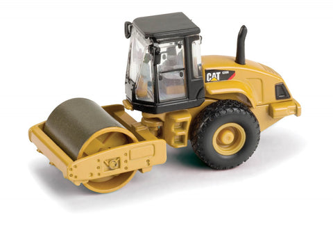 1/87 Norscot 55246 Caterpillar Cat CS-56 Smooth Drum Vibratory Soil Compactor