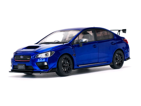 1/18 SUN STAR 5552 2015 Subaru WRX Sti S207 NBR Challenge Package Blue Edition