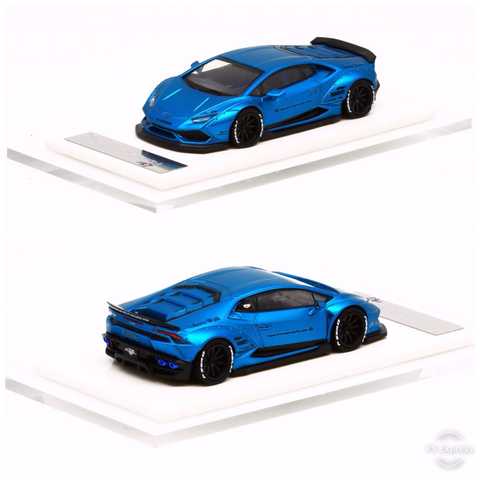 1/64 Liberty Walk LB Performance Huracan LB610 (Fluorescent Mett Blue)
