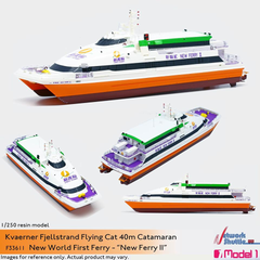 1/250 NWFF Kvaerner Fjellstrand Flying Cat 40m Catamaran - New Ferry II