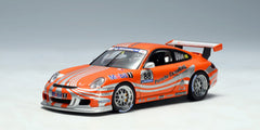 1/43 Autoart 60673 PORSCHE 911 (997) GT3 CUP CAR 2006 (ORANGE LIVERY)