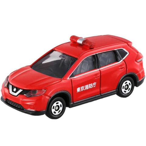 TAKARA TOMY - Tomica No.001 Nissan X-Trail Fire Command Car