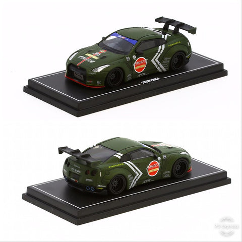 1/64 Liberty Walk LB Performance R35 (Dark Green)