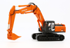 1/50 Hitachi ZAXIS350LC (High Reach Demolition with Crusher & 2 Piece Boom with Skelton Bucket)
