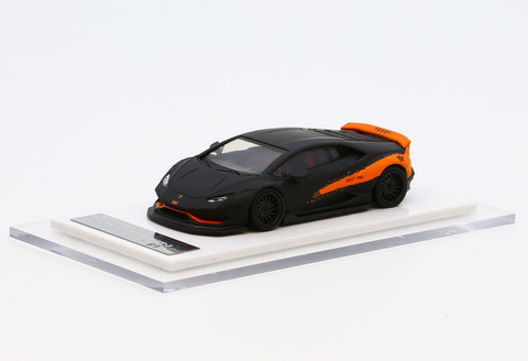 1/64 Liberty Walk LB Performance Huracan LB610 (Mett Black/ Orange)