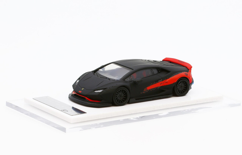 1/64 Liberty Walk LB Performance Huracan LB610 (Mett Black/ Red)