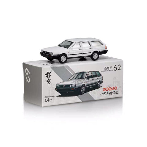 1/64 XCarToys 62 Santana Wagon - White