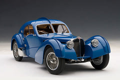 1/18 AUTOART 70943 Bugatti 57SC Atlantic 1938 - Blue With Metal Wire-Spoke Wheels