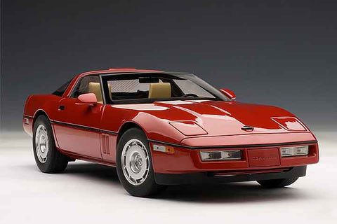 1/18 AUTOART 71241 Chevrolet Corvette 1986 (Bright Red)