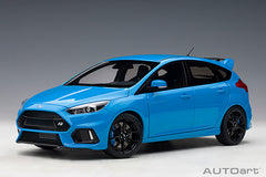 (Pre-Order) 1/18 AUTOART 72953 Ford Focus RS 2016 ( Nitous Blue )