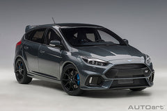 (Pre-Order) 1/18 AUTOART 72954 Ford Focus RS2016 ( Magnetic Grey )