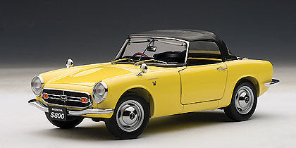 1/18 AUTOART 73277 HONDA S800 ROADSTER 1966 (YELLOW)