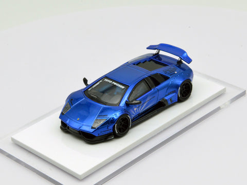 (Pre-Order) 1/64 Liberty Walk LB Performance Murcielago LB670 (Chrome Blue)