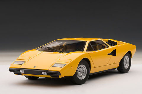 1/18 AUTOART 74646 Lamborghini Countach LP400 (Yellow)