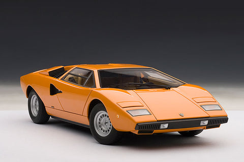 1/18 AUTOART 74647 LAMBORGHINI COUNTACH LP400 (ORANGE)