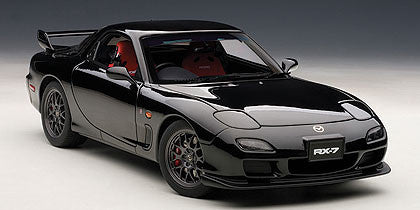 1/18 AUTOART 75986 MAZDA RX-7(FD) SPIRIT R TYPE A (BRILLIANT BLACK)