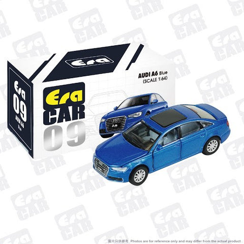 1/64 Era Car 09 Audi A6 Blue