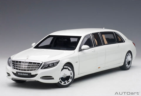 1/18 AUTOART 76296 Mercedes-Maybach S 600 Pullman (White)