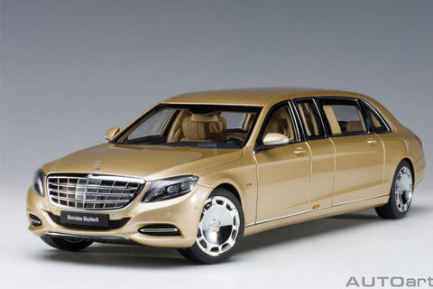 1/18 AUTOART 76298 Mercedes-Maybach S 600 Pullman (Gold)