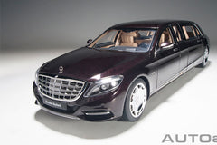1/18 AUTOART 76299 Mercedes-Maybach S 600 Pullman (Dark Red Metallic)