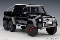 1/18 AUTOART 76306 Mercedes-Benz G63 AMG 6x6 (Gloss Black)