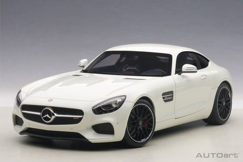 1/18 AUTOART 76311 Mercedes-AMG GT S (Designo Diamond White Bright)