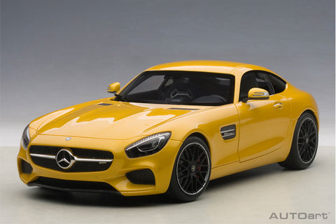 1/18 AUTOART 76314 Mercedes-AMG GT S (Solarbeam/ Yellowish Orange)