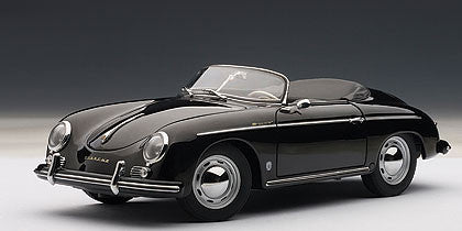1/18 AUTOART 77863 PORSCHE 356A SPEEDSTER EUROPEAN VERSION (BLACK)