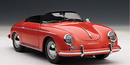 1/18 AUTOART 77864 PORSCHE 356A SPEEDSTER EUROPEAN VERSION (RED)